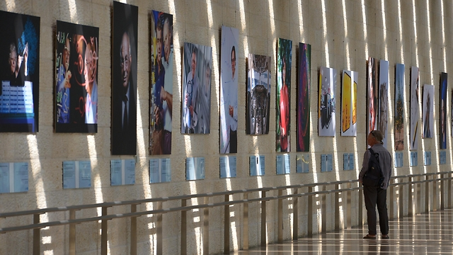 Ben Gurion Airport exhibition 2016 (credit: Kobi Gideon, Israel GPO)