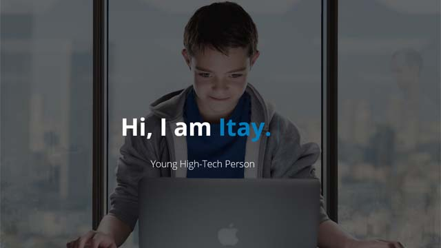 Hi I am Itay (credit: screenshot)