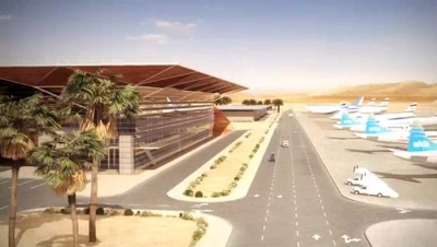 On the way to reality: simulation of the new Ramon airport (credit: screenshot, IAA video)