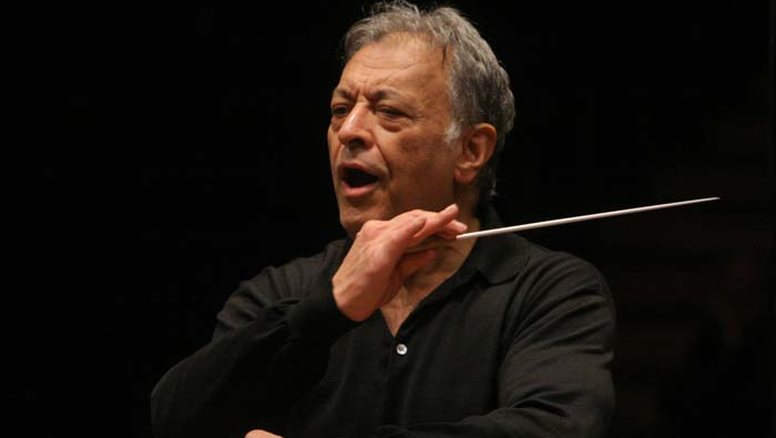 Maestro Zubin Mehta (credit: Oded Antman)
