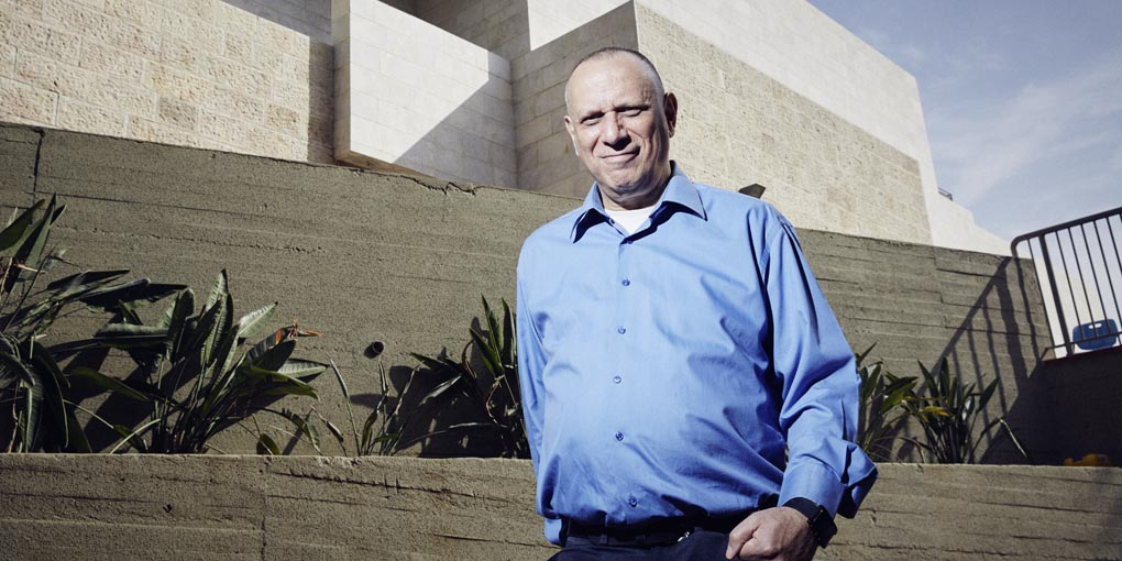 Dov Moran, one of Israel's technological pioneers (Credit: Katharina Bohm)