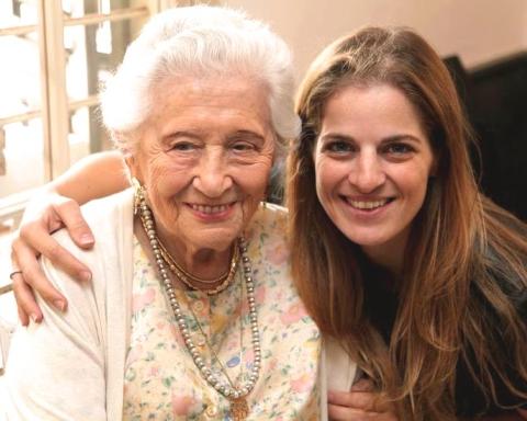 Ruth Dayan and Sharon Tal (Credit: Courtesy Maskit)
