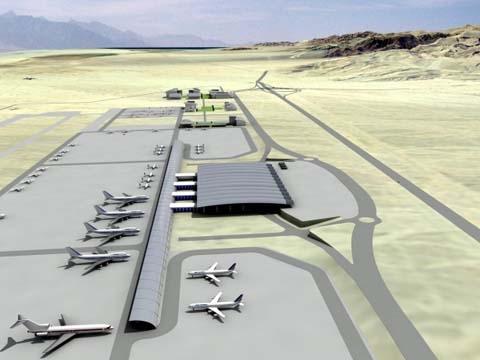Illan and Asaf Ramon Airport in Timna (Credit IAA)