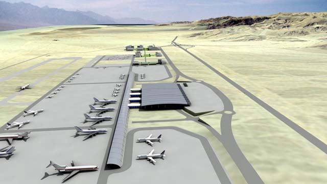 Illan and Asaf Ramon Airport in Timna (Credit IAA)