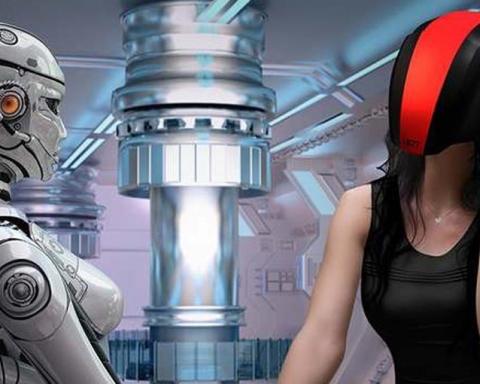 Feelreal Virtual Reality Mask and helmet (Credit: Feelreal via Kickstarter)