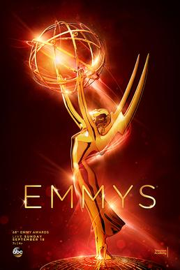 The official poster of the 2016 Annual Primetime Emmy Awards