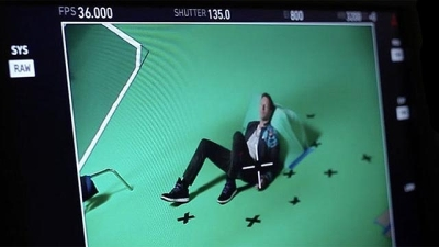 Behind the scenes, Coldplay Up&Up Screenshot
