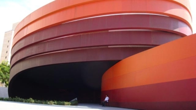 Ron Arad's Design Museum in Holon (Credit: Wikimedia)