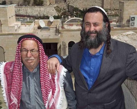Co-existence in Jerusalem (Credit: Herlinde Koelbl)