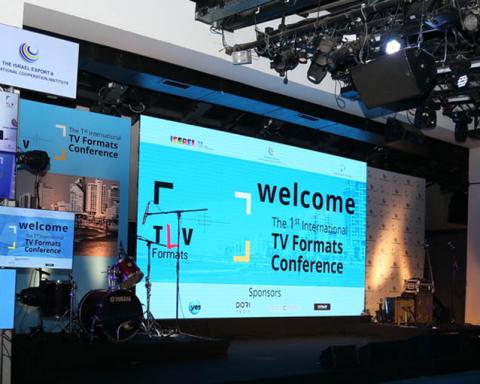 Tel Aviv's first TV Formats Conference (Credit: Organiser)
