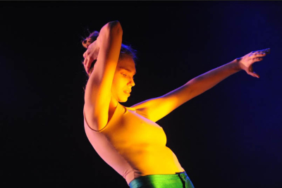 c.a.t.a.m.o.n dancer in Jerusalem (Credit: catamon, Eitan Cohen, Facebook)
