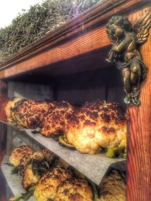 Cauliflowers are one of the chef's megahits (Credit: Hamiznon)